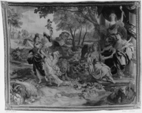 Summer and three winged female figures of June, July and August, Image 1