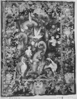 Large-leaf verdure (feuille de choux) with putti and herons, Image 2