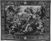 Boreas and Orithyia, Image 1, Boreas abducting Orithyia, Image 1