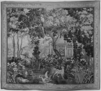 Landscape with dog and waterfowl, Image 1