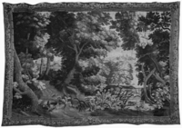 Landscape with thistles in foreground, Image 1