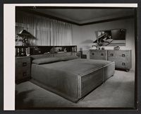 Job 162: Bedroom suite, furniture set-up, 1948