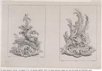 Plates C15 and C17 from the Livre de légumes inventées et dessinées par J. Me.r …], [1734-1742