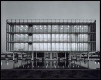 Job 3267: Heusel, Homolka and Associates, Long Beach (Calif.). Water Dept. Administration Building (Long Beach, Calif.), 1961