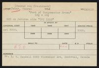 Inventory cards: Sold alphabetical, Artists, Faber - Guys, 1907-1973, bulk 1907-1971