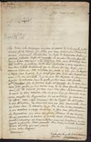 Lempereur, Louis-Simon, Letter to M. Cuvillier, 1775 November 3