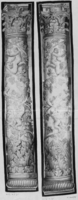 Border fragments as hangings, c. 1640-1670