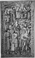Scene at court of king, c. 1510-1520