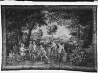 Vintage scene: making wine casks, c. 1725-1775