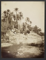 Bou-Saada, riverbed with laundry drying], [187