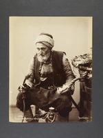 Paysan turc fumant le narguilé, 1890