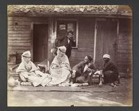 Scheigh (chef Turc) accompagné de sa famille, [186]